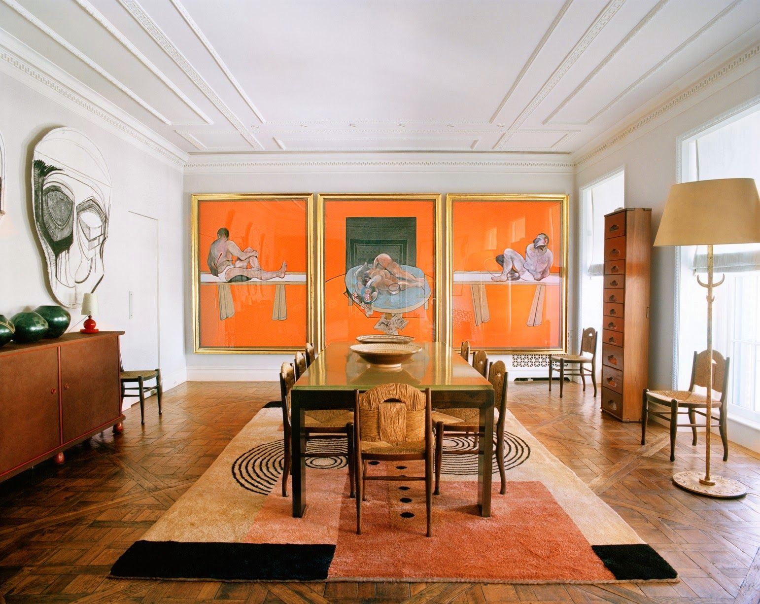 Terry De Gunzburg Manhattan Apartment By Jacques Grange Interior Design Interior Home Decor