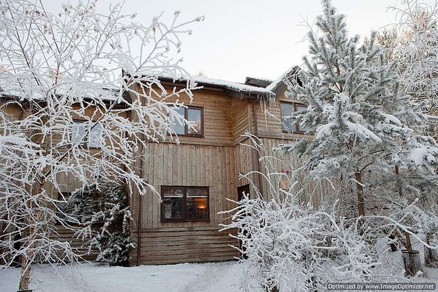 Accommodation at Whinfell Forest by Center Parcs UK, via Flickr