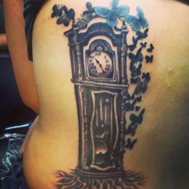 Grandfather Clock Tattoo Drawings Grandfather Clock Tattoo Grandfather Tattoo Tattoos For Guys