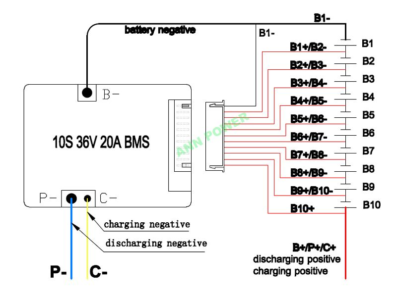 10 S 36 V 42 V 20a Batterie Lithium Ion Bms Pour 36 V 10ah E Bike Li Ion Batteries Pack Avec La Fonction D Equil Lithium Ion Batteries Li Ion Battery Battery
