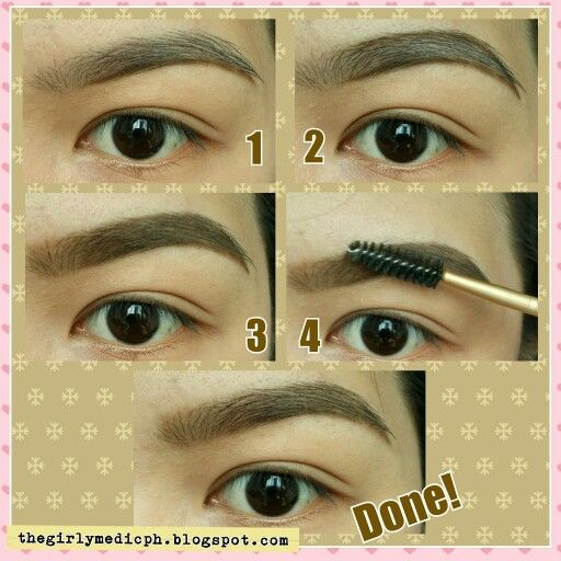 how to use brow gel