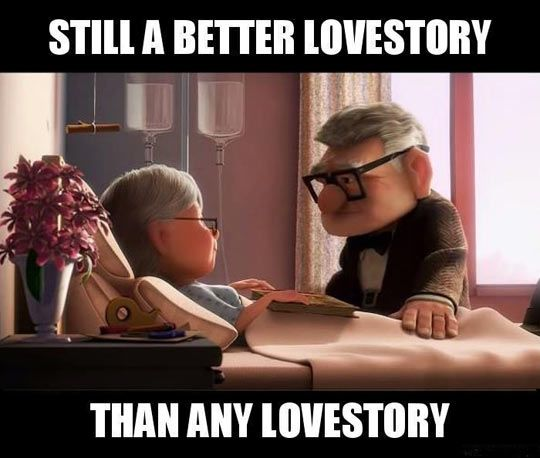 Greatest Love Story Of All Time | Funny picture jokes, Great love ...