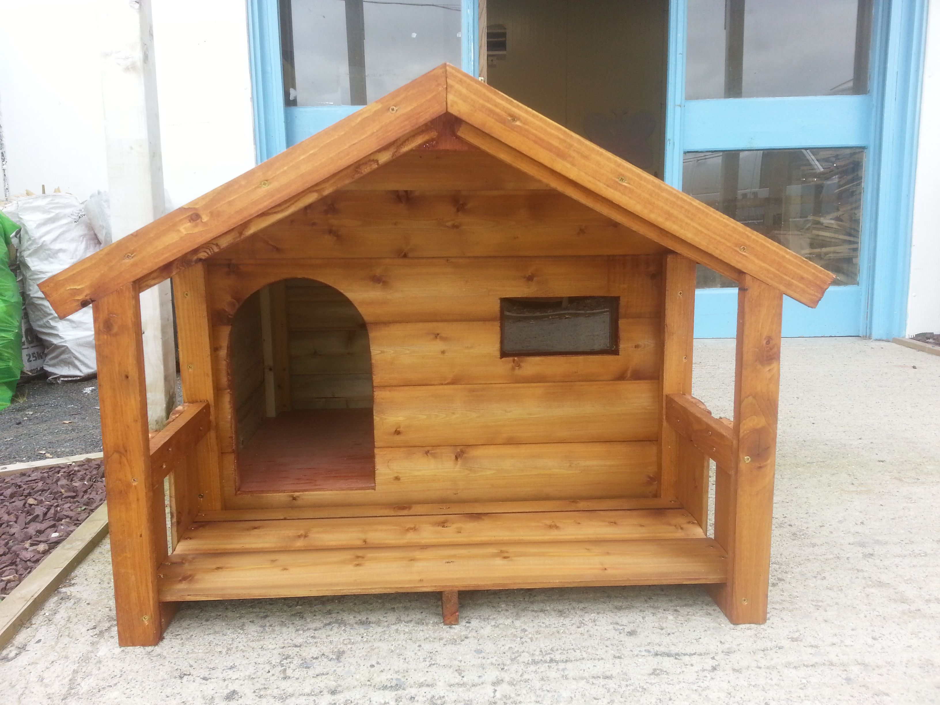24 Free Dog House Plans Peaked Roof A Frames Dog Shelters