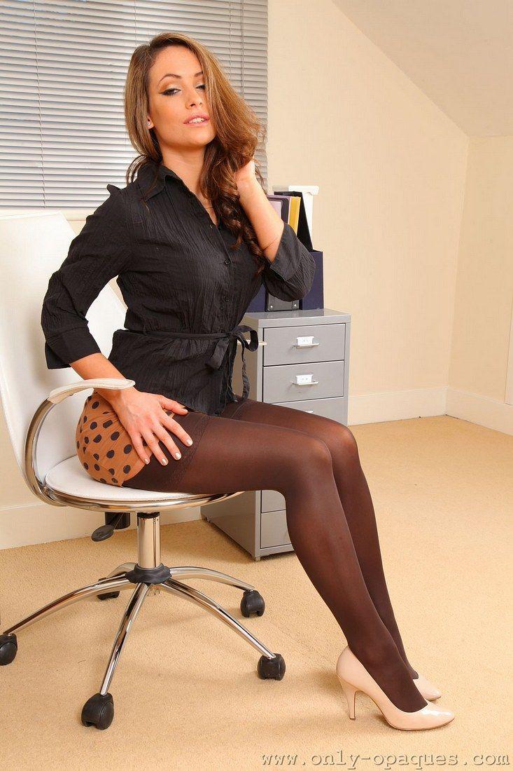 Heiße Sekretärin Dessous
