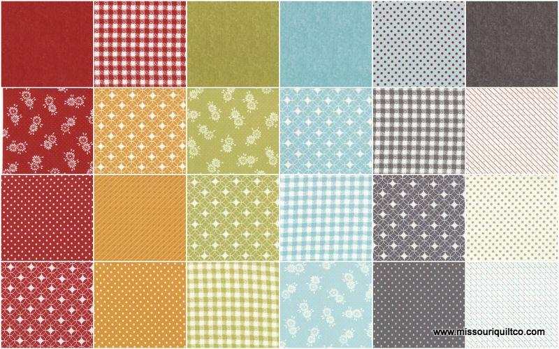 Flats Layer Cake - Angela Yosten - Moda Fabrics