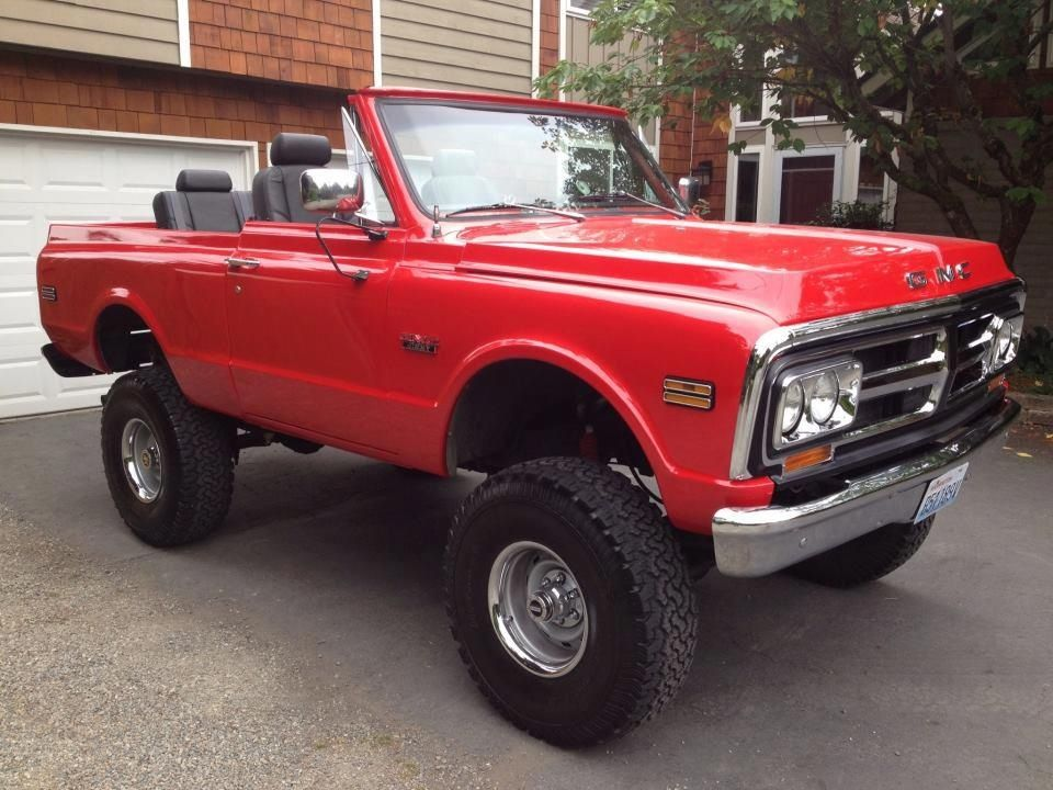71 Gmc Jimmy Gmc Vehicles Gmc Trucks Lifted Chevy Trucks