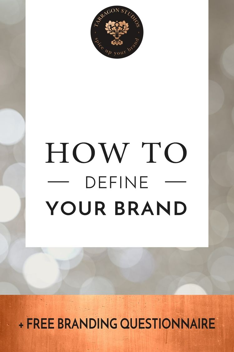 Poster design questionnaire - How To Define Your Brand Free Brand Questionnaire