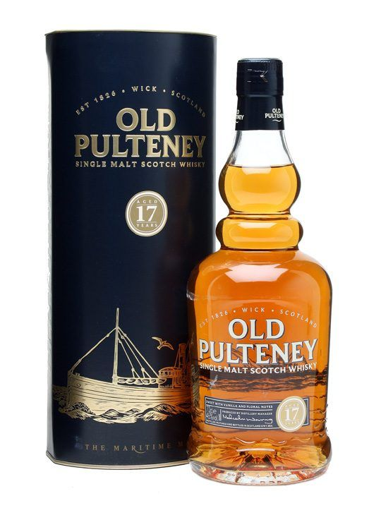 A delicious Highland dram from Old Pulteney, this 17yo is comprised of 90% refill bourbon casks with the remainder being from Oloroso casks.  Lovely sweet aromas of butterscotch, honey and chocolat...