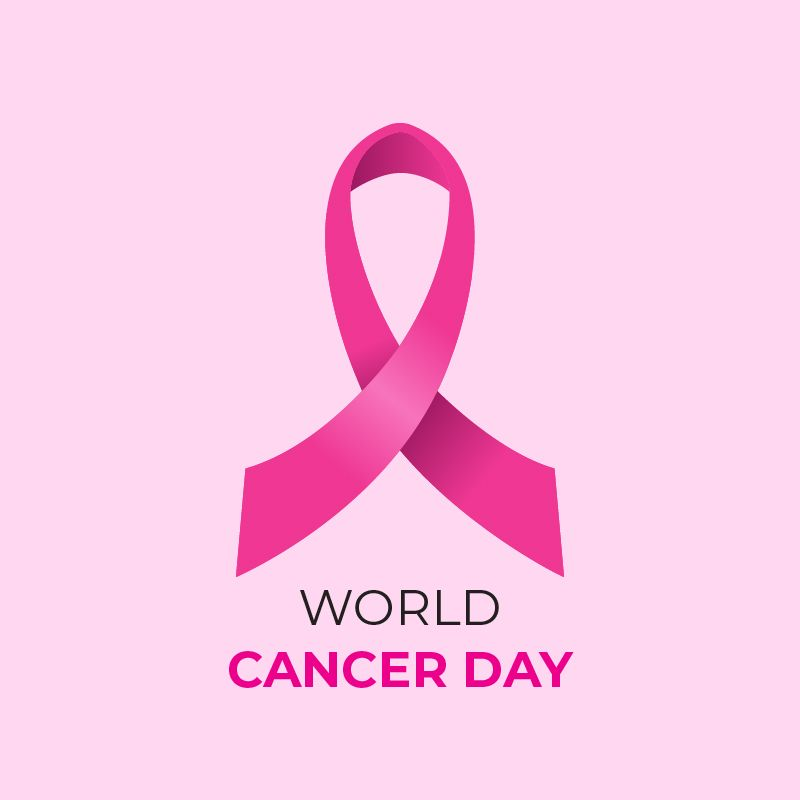 5190a6101b0 World Cancer Day Free Vector Card Corporate Design , #4February ...