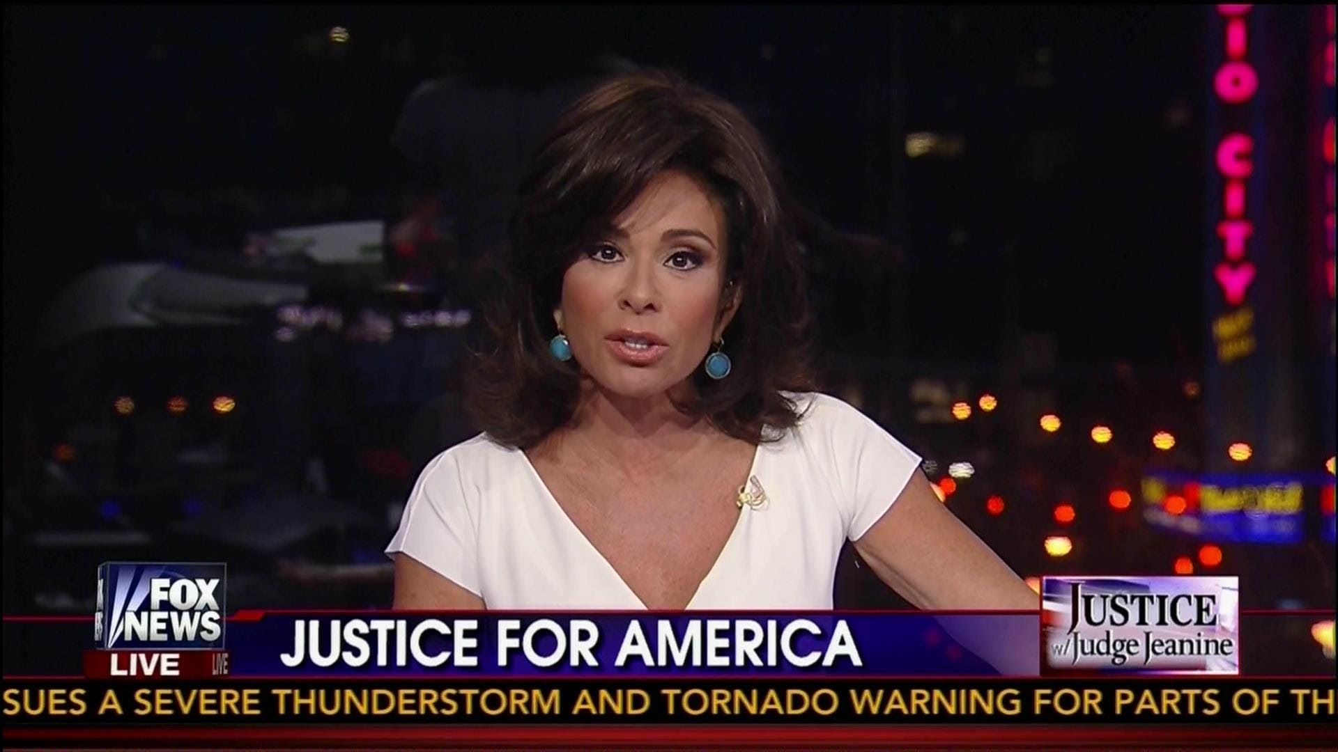 Judge Jeanine Slams Obama Thanks to you we re now a Paper Tiger