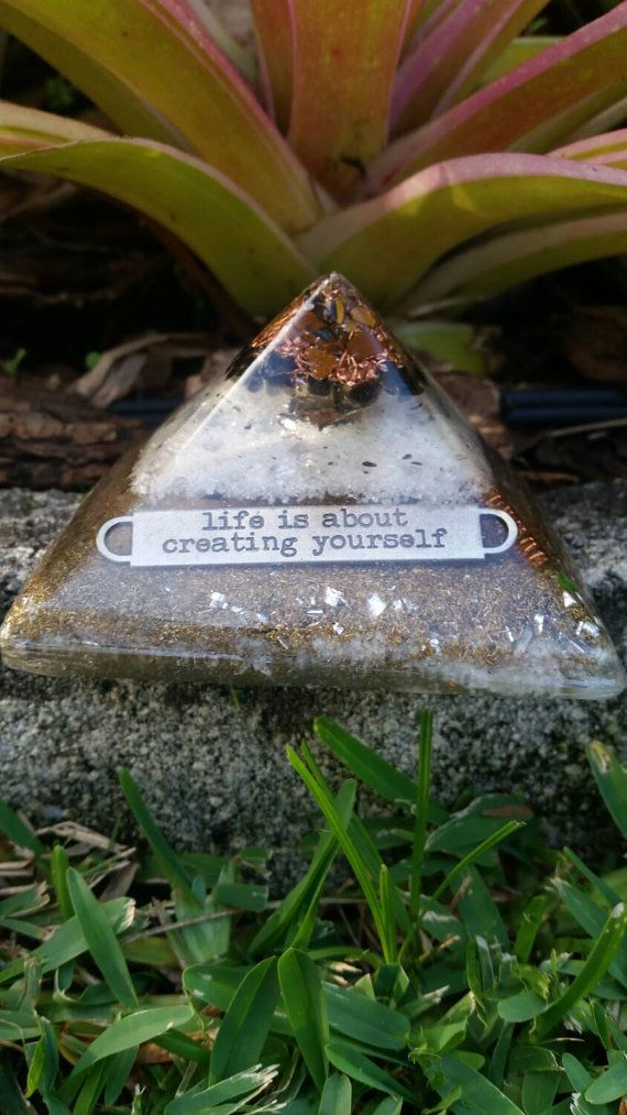 Hey, I found this really awesome Etsy listing at https://www.etsy.com/listing/224891103/tigers-eye-orgonite-pyramid-life-is