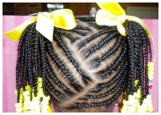 African American Hair Braid Styles: African American Little Girl Braids Hairstyles