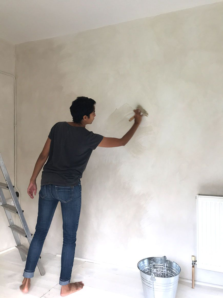 Ad How To Decorate With Limewash Paint Breathable Eco Paint From Bauwerk Colour Curate Display Nordic Interiors And Lifestyle Blog In 2020 Plaster Walls Diy Wall Painting Techniques Limewash