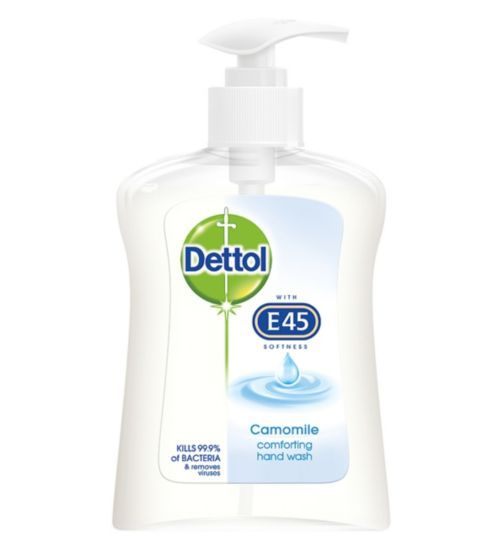 Dettol Camomile Comforting Hand Wash 250ml Boots Hand Washing