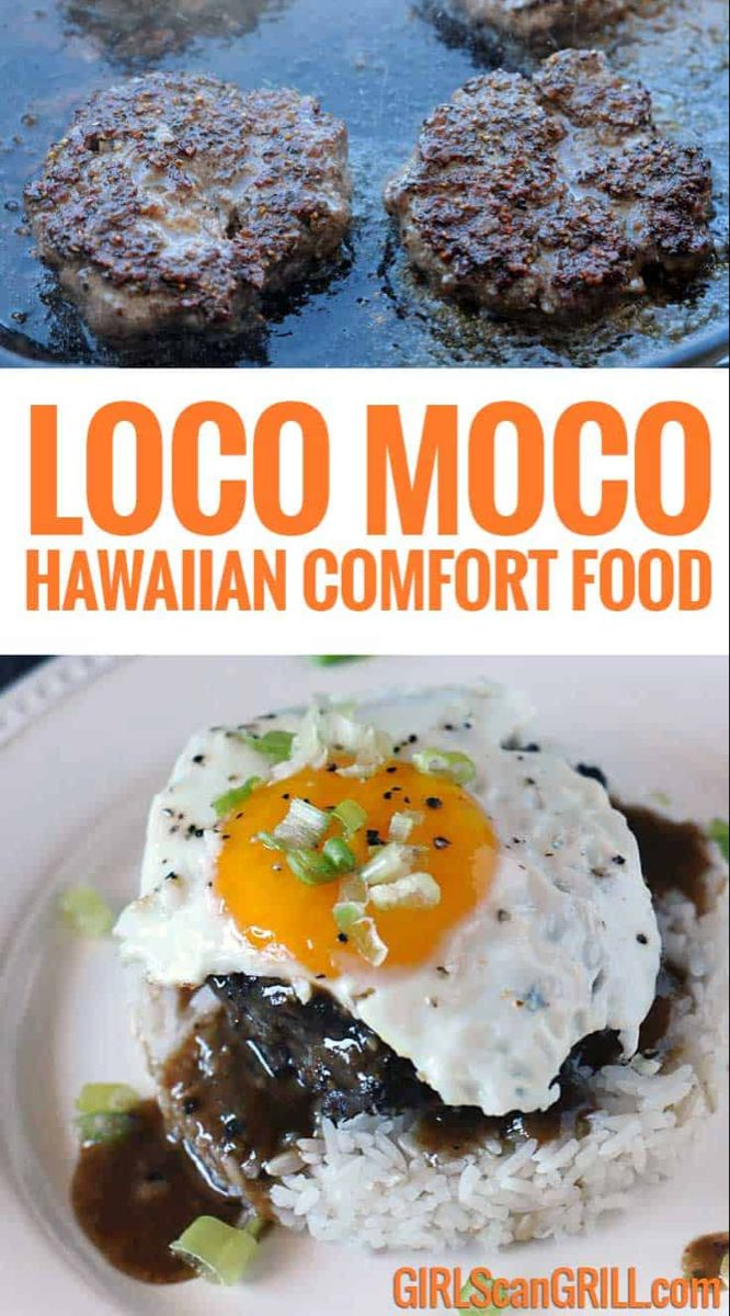 Loco Moco - Hawaiian Comfort Food | Girls Can Grill