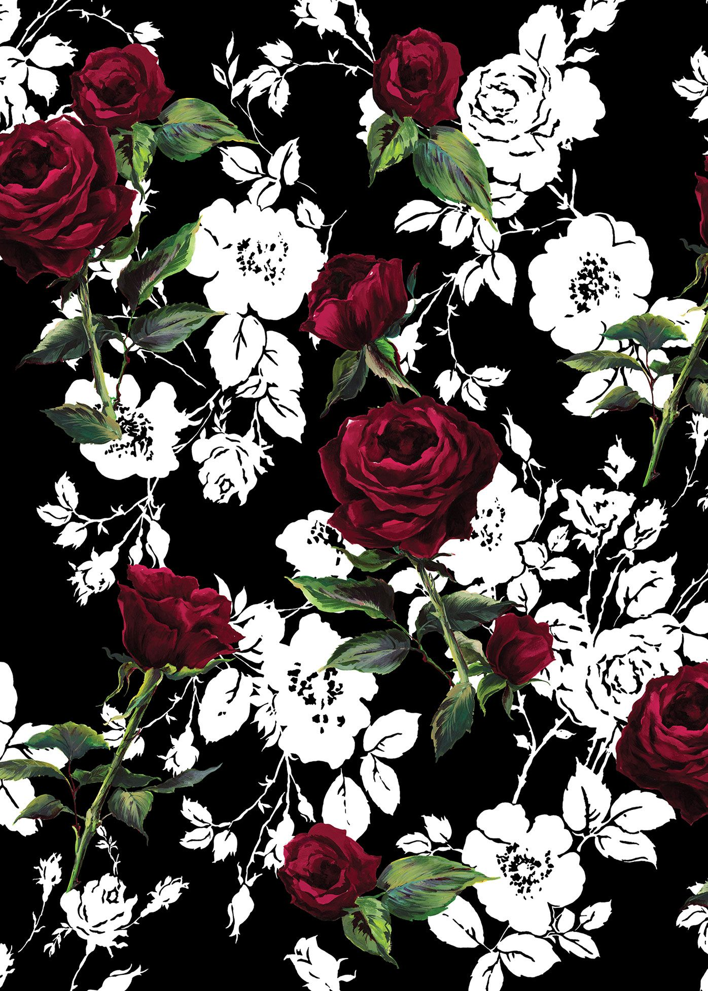 Dark Floral: Flowery Prints for the Winter!