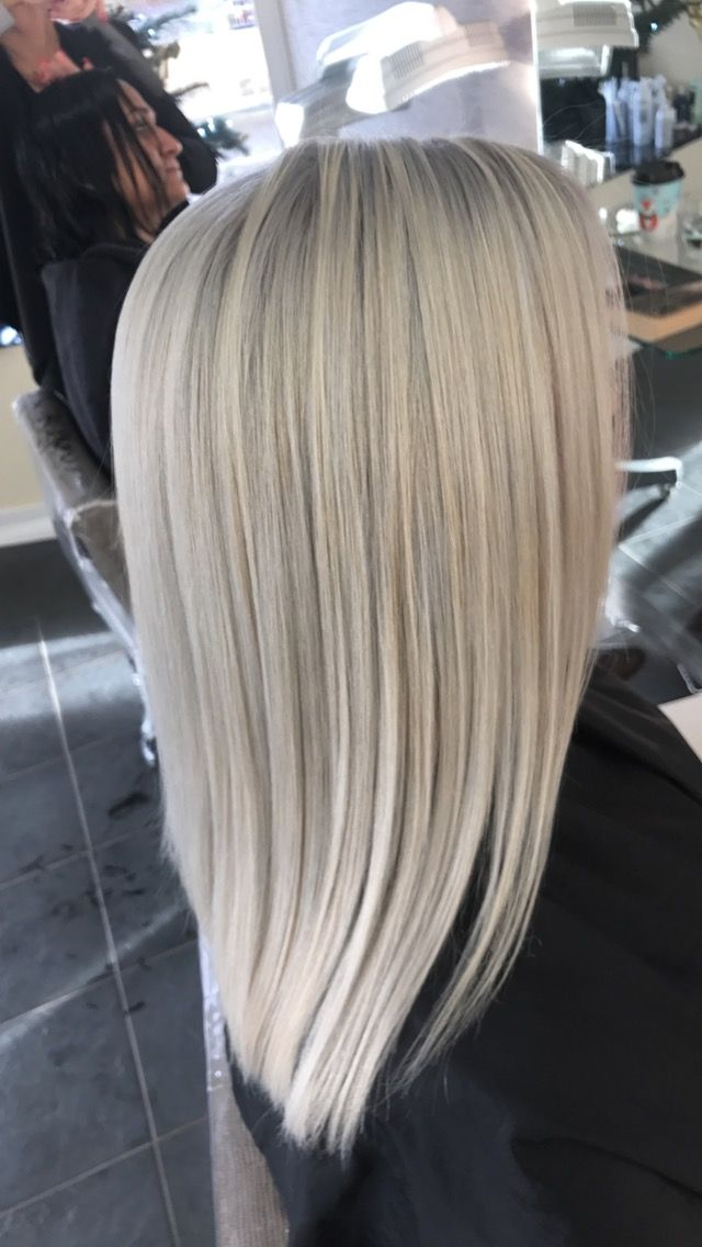 Silverwhite Smoking Blonde Hair Hairenvy Hair Inspo