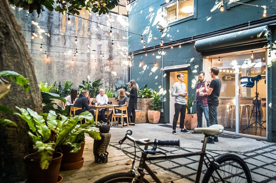 Creative Event Space With X Large Secret Patio The Mission Bright