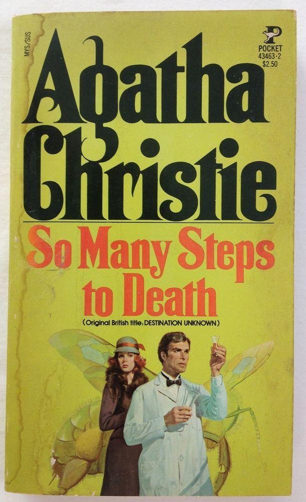 SO MANY STEPS TO DEATH (Destination Unknown) Agatha Christie (1955, PB)