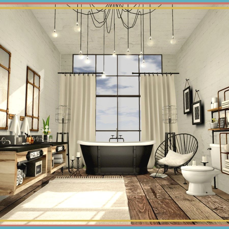 Beautiful Industrial Style Bathroom Renovation Ideas To Complete ...