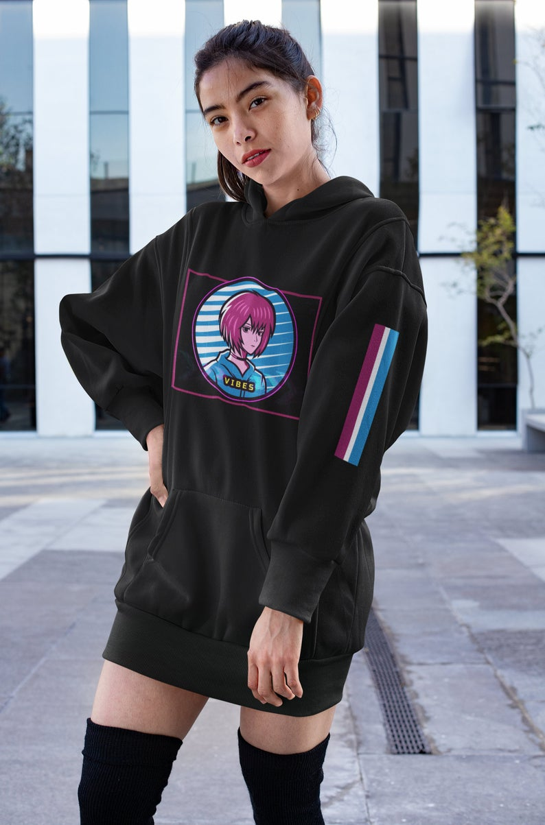 This is a collaboration hoodie jersey with adidas originals and attack no.1. Hoodie Anime Girl Adidas - Anime Wallpaper HD