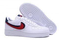 Zero Defect Nike Air Force 1 07 Lv8 White Black Red 823511