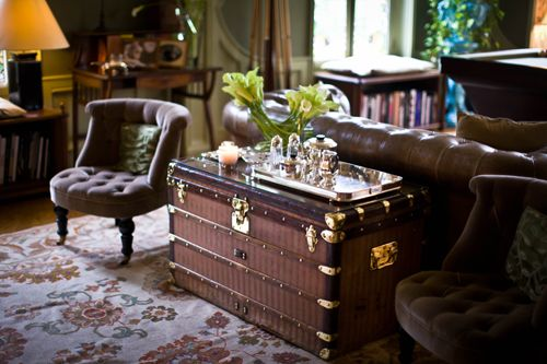 table basse malle vuitton ray id e decoration pinterest. Black Bedroom Furniture Sets. Home Design Ideas