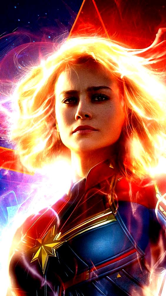 Brie Larson In As Captain Marvel 2019 4k Ultra Hd Mobile Wallpaper In 2020 Captain Marvel Marvel Movie Posters Captain Marvel Carol Danvers