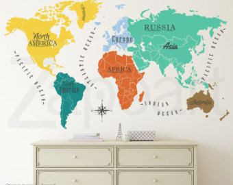Handmade world map etsy spanish quotes pinterest spanish handmade world map etsy gumiabroncs Gallery