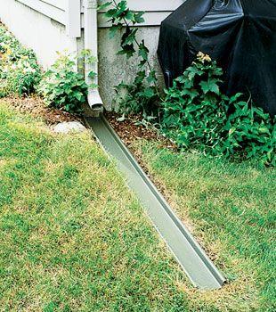 Pin By Everything Gutter On Gutter Extender Gutter Drainage Landscape Drainage Drainage Solutions