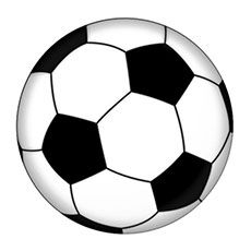 Soccer ball color. Popular coloring pages