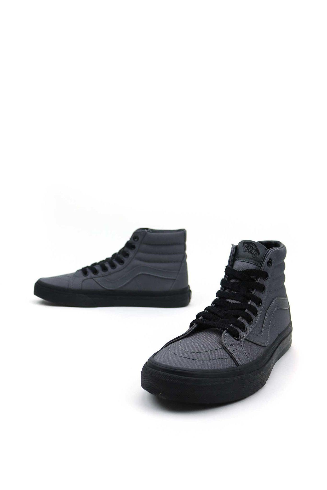 vans sk8-hi reissue premium leather black true white