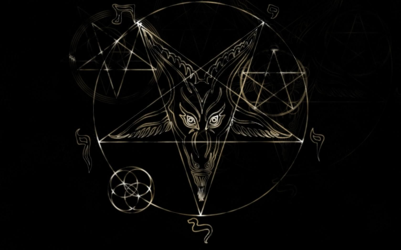 Satanic Pentagram Wallpapers Wallpaper Cave Искусство