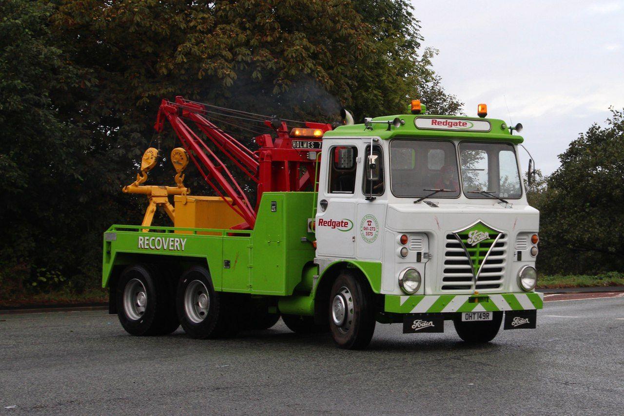 foden wrecker redgate recovery truck tow trucks pinterest