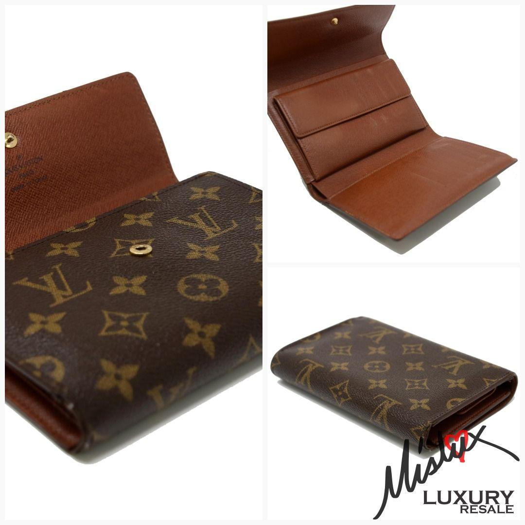 23f09d934e30 Louis Vuitton Monogram Porte Tresor Signature Etui Papiers Trifold Luxury  Wallet  brea  losangeles  jerushaaddict  cerritos  luxmommy  mommyandme ...