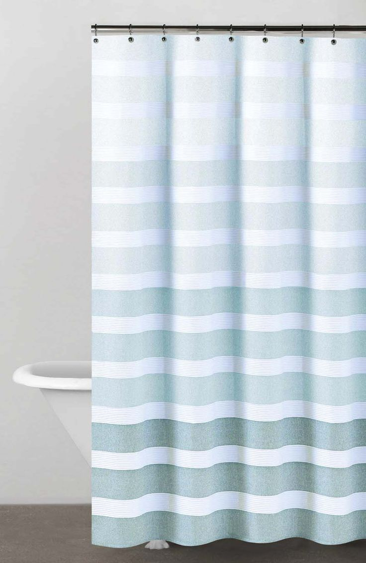 Dkny Highline Stripe Cotton Shower Curtain Wanted To See