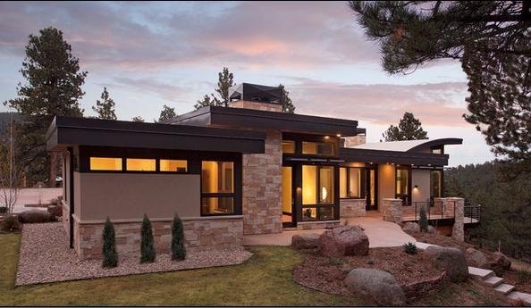 Fachadas de casas de una planta buscar con google casa - Fachadas de casas de una planta ...