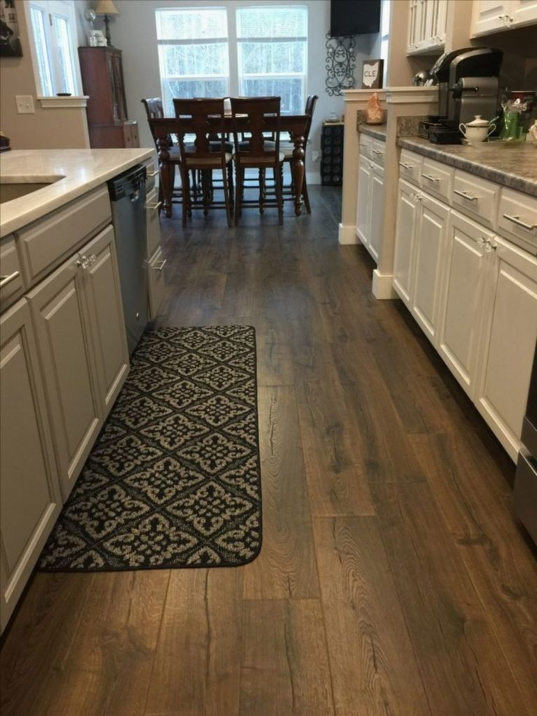 30 Spectacular Wood Floor Ideas For Amazing Kitchen
