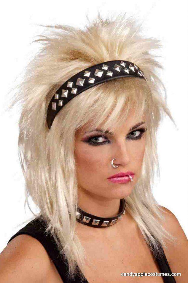 Fancy Dress Accessory Punk Studded Headband