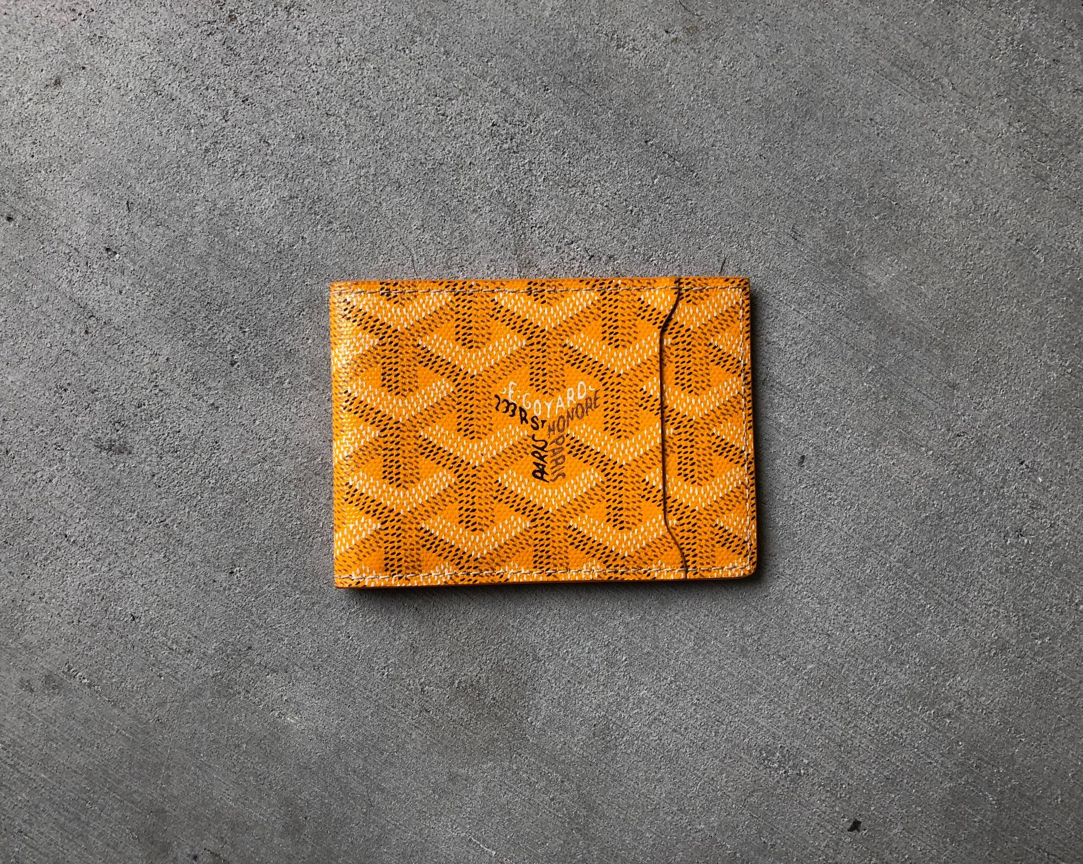 9bcf34f98538 Goyard Goyard Bifold Cardholder (L'Insert Victoire) Size ONE SIZE - 4