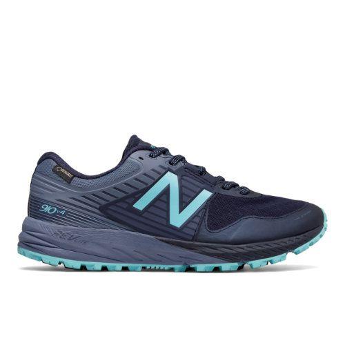 93a2df933f6f 910v4 Trail GTX Women s Trail Running Shoes - Navy Blue (WT910GX4 ...