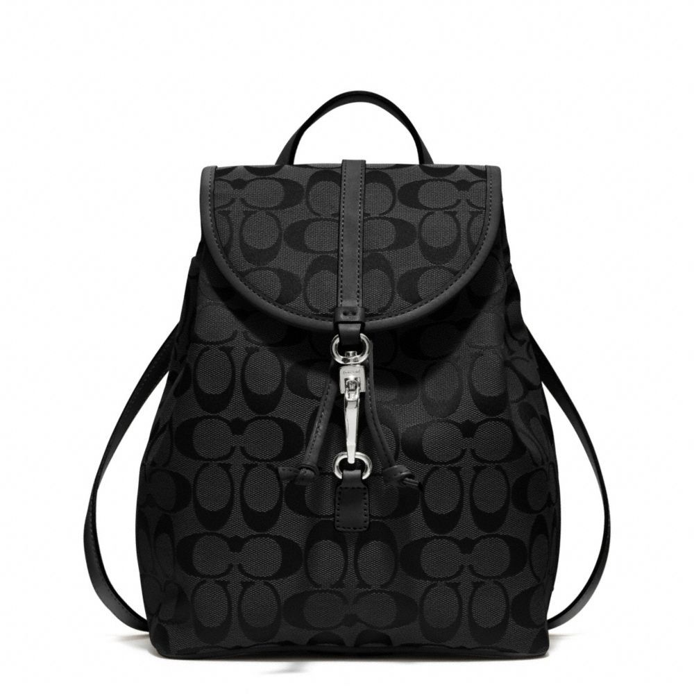 91208cfa25 The Coach Classic Small Backpack In Signature Fabric from Coach ...