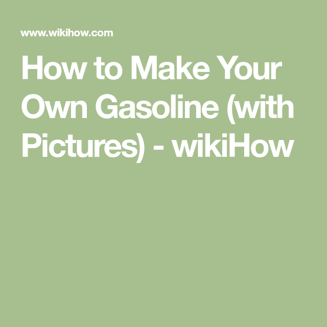 make synthetic gasoline plastic to fuel pinterest cats how to