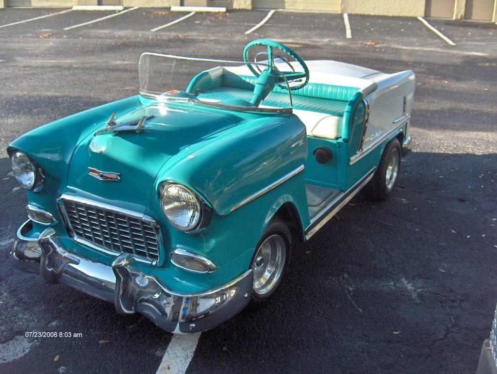 25 Crazy Golf CartsRolls-Royce | Chevrolet 1957 | Pinterest | Pedal ...