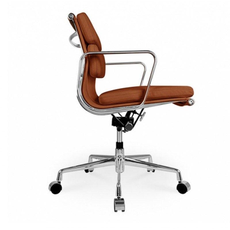 Charles Eames Bureaustoel.Eames Bureaustoel Ea 217 Cognac Interieur Eames En Meubels