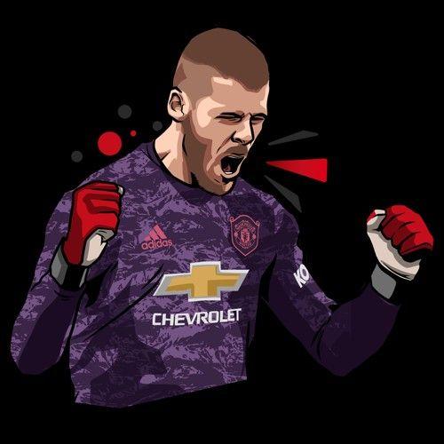 Most Awesome Manchester United Wallpapers De Gea David De Gea