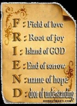 Full form of friend | Muskaan Hashmi | Best friendship