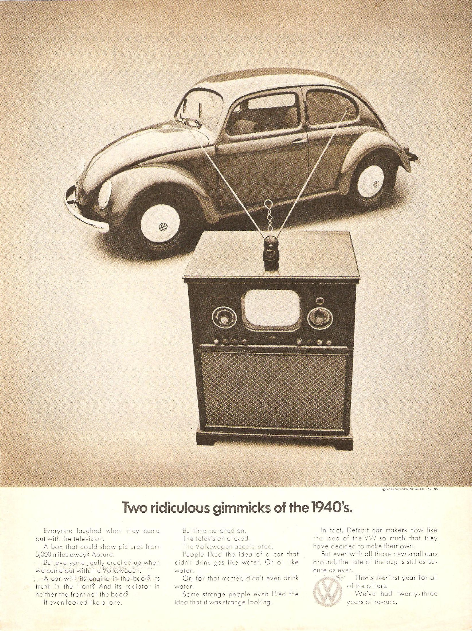 VW Advertising in the Seventies: From Classic DDB to a New Direction ...