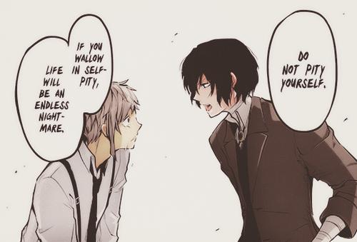 Dazai would know. I love him! ️ ️ ️ ️