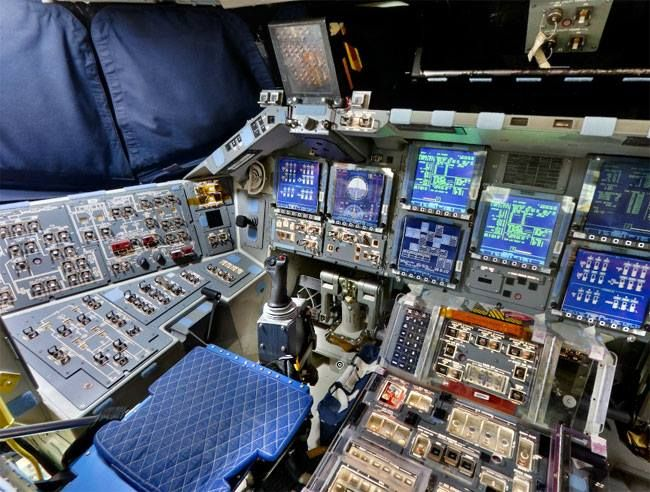 Hey What Does That Button Do This Is The Flight Deck For The Space Shuttle Discovery Discovery Completed 39 M Space Shuttle Discovery Shuttle Flight Deck